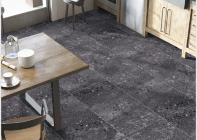 terazzo anthracite 60x120 luster mat