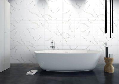 wall  30x60 płytki ceramiczne ścienne kolekcja carrara wall
